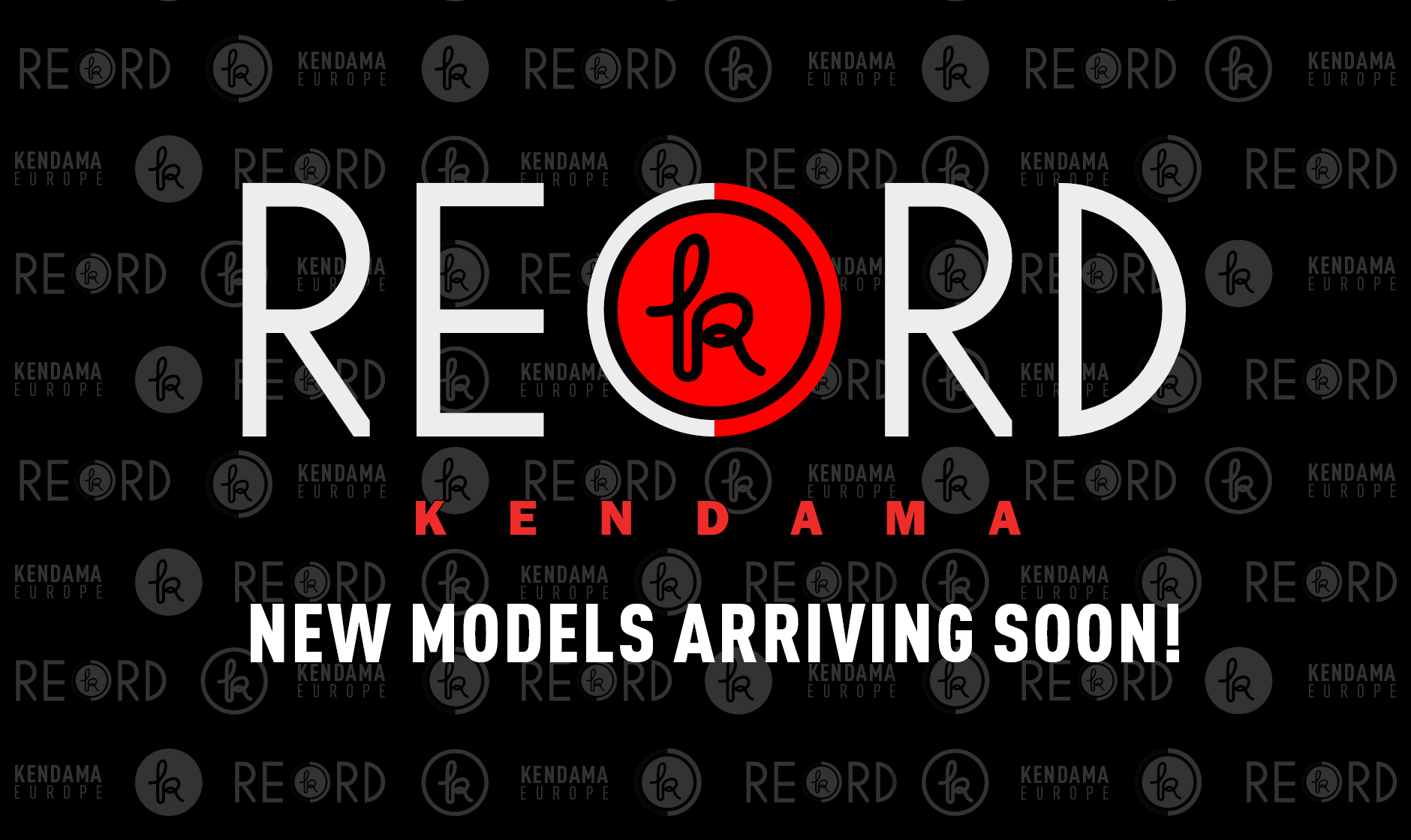 RECORD KENDAMA - New models arriving soon